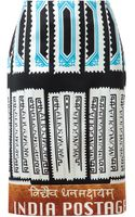 Mary Katrantzou Indian Postage Stamp Printed Silk Pencil Skirt - Lyst