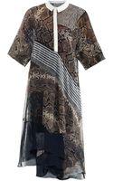 Preen By Thorton Bregazzi Marlow Python Print Dress - Lyst