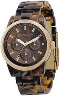 Michael Kors Tortoise Shellcolored Bracelet Watch - Lyst