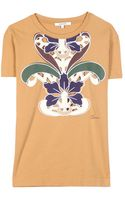 Carven Tshirt with Cutout Design - Lyst