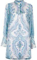 Coast + Weber + Ahaus Paisley Print Dress - Lyst