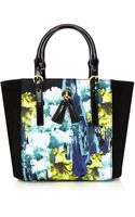 Karen Millen Iris Print Mini Bag - Lyst