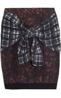 3.1 Phillip Lim Printed Silk Skirt - Lyst