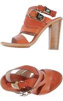 Fabi Platform Sandals - Lyst