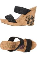 Replay Wedges - Lyst
