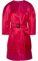 Burberry Prorsum Ombrã Silk Cocoon Coat - Lyst