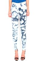 Mother Denim The Looker Skinny Jeans in Icebreaker - Lyst