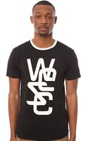 Wesc The Overlay Classic Tee in Black - Lyst