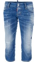 DSquared2 Cropped Jean - Lyst