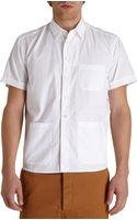 Barena Venezia Patch Pocket Short Sleeve Shirt - Lyst