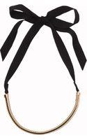 Lanvin Tube Necklace - Lyst