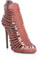 Tabitha Simmons Strippy Shoe Boots - Lyst