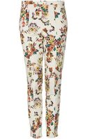 Topshop Pixelated Highwaist Trousers - Lyst