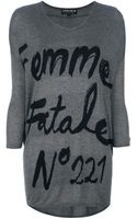 5preview Femme Fatale Sweater - Lyst