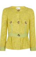 RED Valentino Cotton and Silkblend Tweed Jacket - Lyst