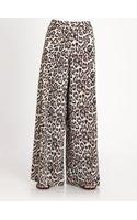 Alice + Olivia Leopard Pants - Lyst