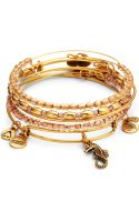 Alex And Ani Dawn Bangle Set - Lyst