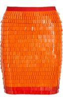 Hervé Léger Embellished Bandage Skirt - Lyst