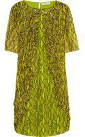 Matthew Williamson Embellished Printed Silk Chiffon Dress - Lyst