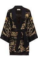 Emilio Pucci Embellished Silk Kimono Jacket - Lyst