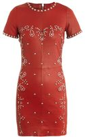 Isabel Marant Dreamy Studded Stretch Leather Dress - Lyst