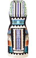 Mary Katrantzou Etrusci Printed Cottonsilk Dress - Lyst