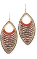 Miguel Ases Drop Earrings - Lyst