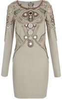 Matthew Williamson Mirror Embellished Dress - Lyst