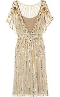 Temperley London Web Sequined Tulle Dress - Lyst