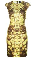 McQ by Alexander McQueen Rose Print Dress - Lyst