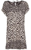 Mango Tribal Inspired Printed Dress - Lyst