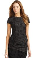 Doo. Ri Lace Draped Tunic - Lyst