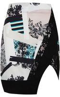 Topshop Paint Stroke Pencil Skirt - Lyst