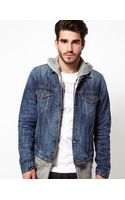 Edwin Denim Jacket Bronco Blurred Wash - Lyst
