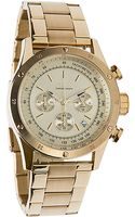 Flud Watches The Frost Watch in Gold Link Chrono - Lyst