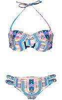Mara Hoffman Electric Casino Braided Bikini - Lyst