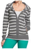 Old Navy Waffleknit Sweater Hoodies - Lyst
