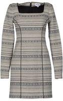 American Retro Short Dresses - Lyst