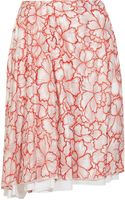 Diane Von Furstenberg Adella Embroidered Silk Skirt - Lyst