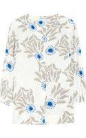 Diane Von Furstenberg Julieta Printed Silk Crepe Top - Lyst