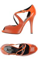 Dolce & Gabbana Pumps with Open Toe - Lyst