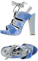 Pollini Platform Sandals - Lyst