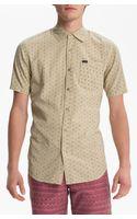 RVCA Dash Woven Shirt - Lyst