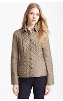 Burberry Brit Kencott Patch Pocket Quilted Coat - Lyst