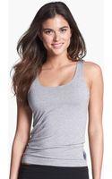 Calvin Klein Essentials Shelf Bra Tank - Lyst