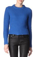 Acne Studios Lia Knitted Jumper - Lyst