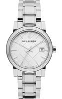 Burberry Stainless Steel Watch Silver - Lyst