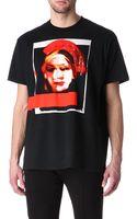 Givenchy Madonna Print T-Shirt - Lyst