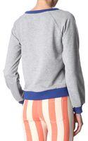 House Of Holland Printed Sweatshirt - Lyst