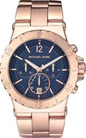 Michael Kors Rose Goldplated Chronograph Watch Rose Gold - Lyst